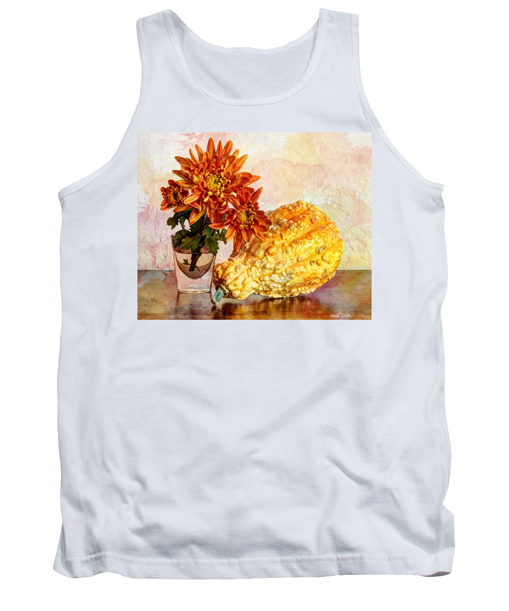 Autumn Tank Top featuring the photograph Autumn's Pride by Heidi Smith