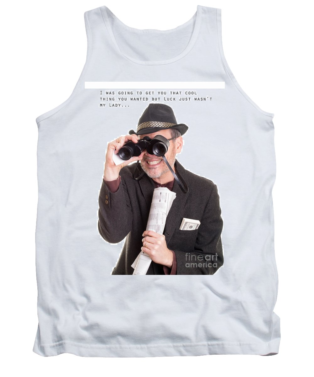 Birthday Tank Top featuring the photograph Bad Luck For Me And You by Edward Fielding