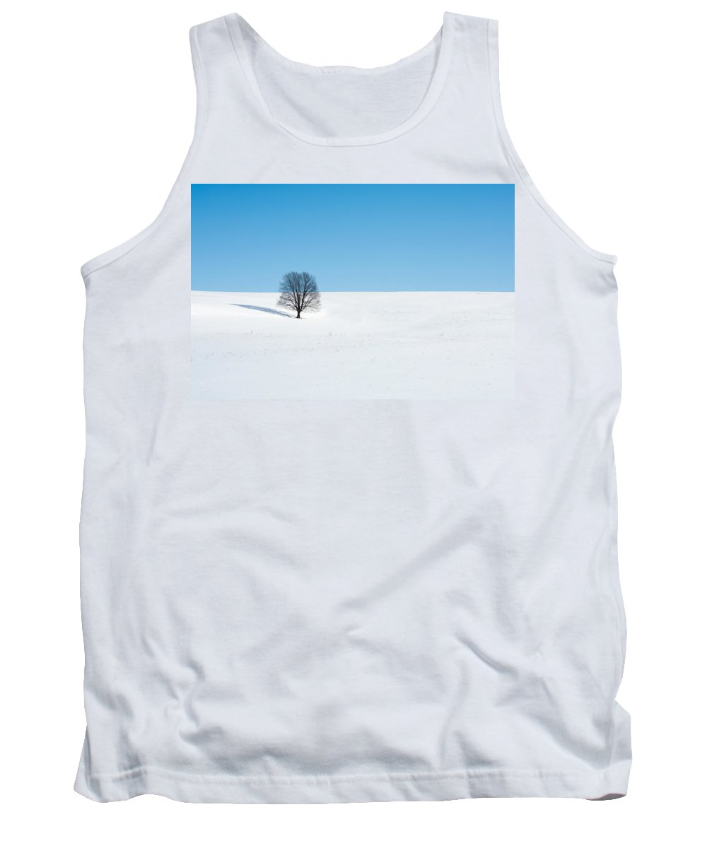 Snow Tank Top featuring the photograph Balance by Todd Klassy