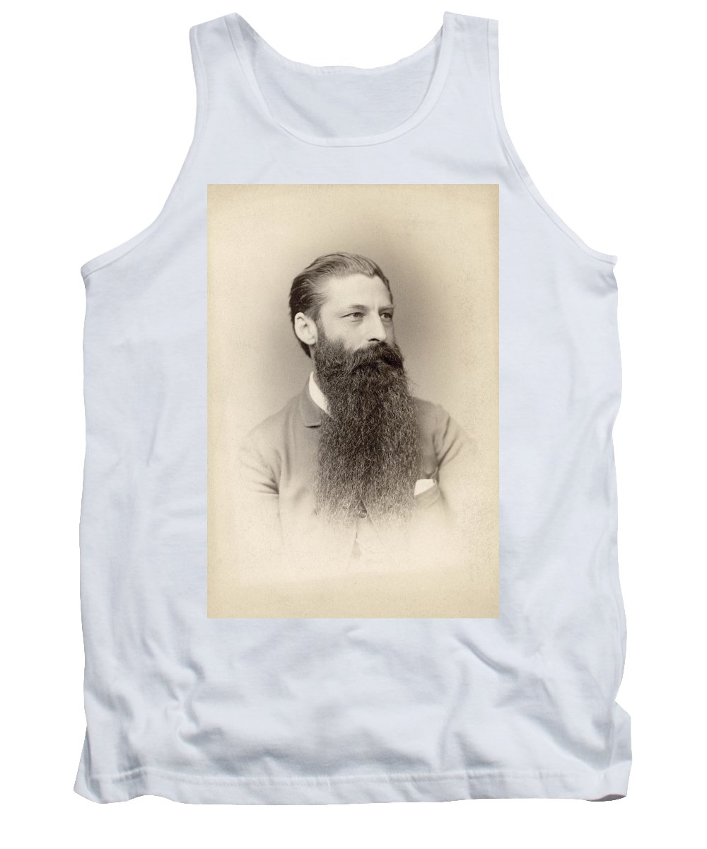 American Tank Top featuring the photograph Bearded Man by Granger