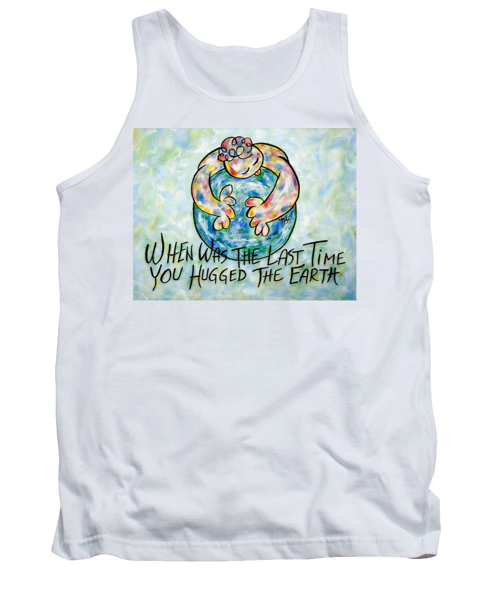 Save The Earth Tank Top featuring the painting Beautiful Earth by Natalie Holland
