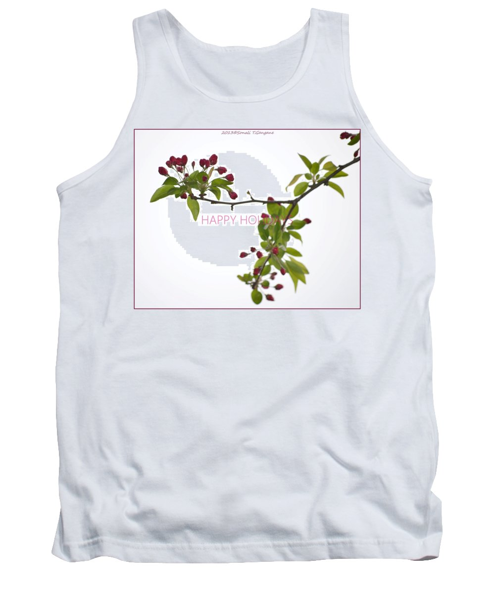 Posters Tank Top featuring the photograph Beautiful Floral Greetings by Sonali Gangane