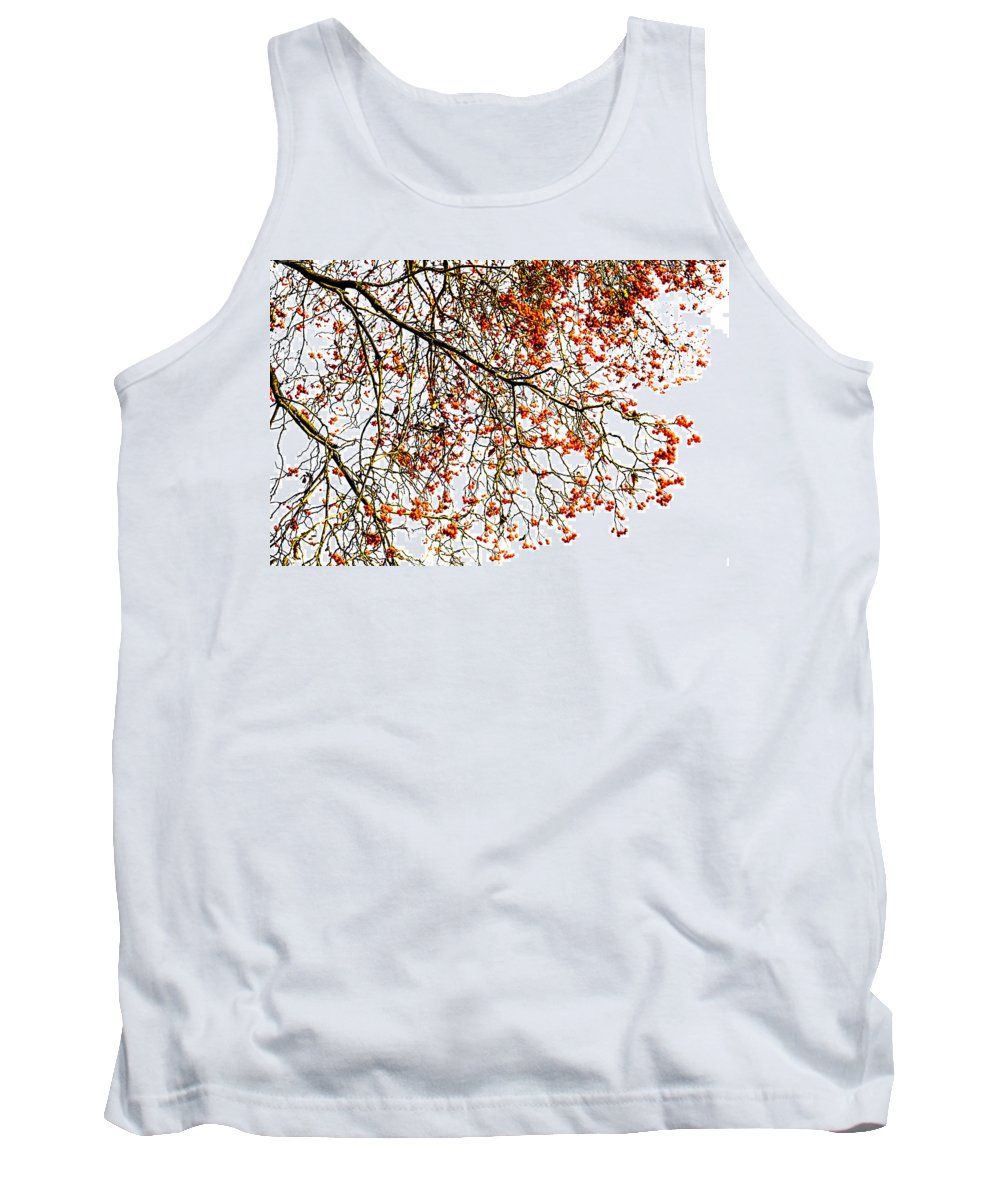 Abstract Tank Top featuring the photograph Beautiful Rowan 1 by Alexander Senin