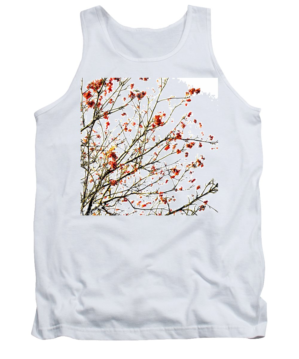 Abstract Tank Top featuring the photograph Beautiful Rowan 4 - Square by Alexander Senin