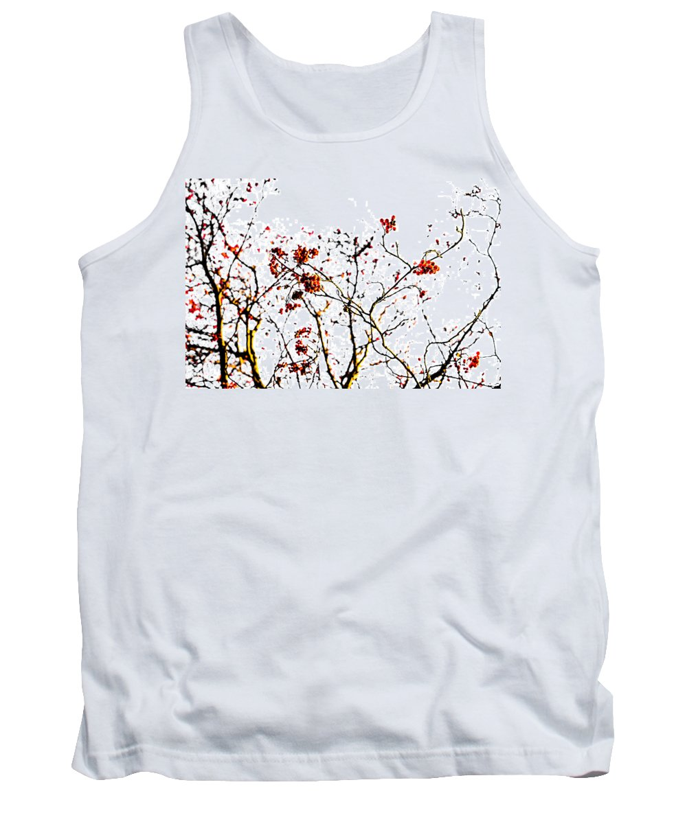 Abstract Tank Top featuring the photograph Beautiful Rowan 8 by Alexander Senin