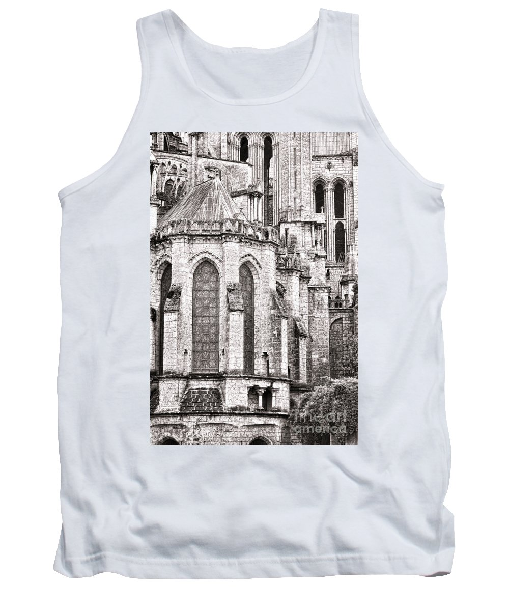 France Tank Top featuring the photograph Behind The Cathedral by Olivier Le Queinec
