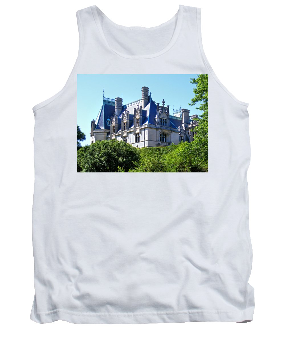 Biltmore Tank Top featuring the photograph Biltmore House In Summer by Duane McCullough