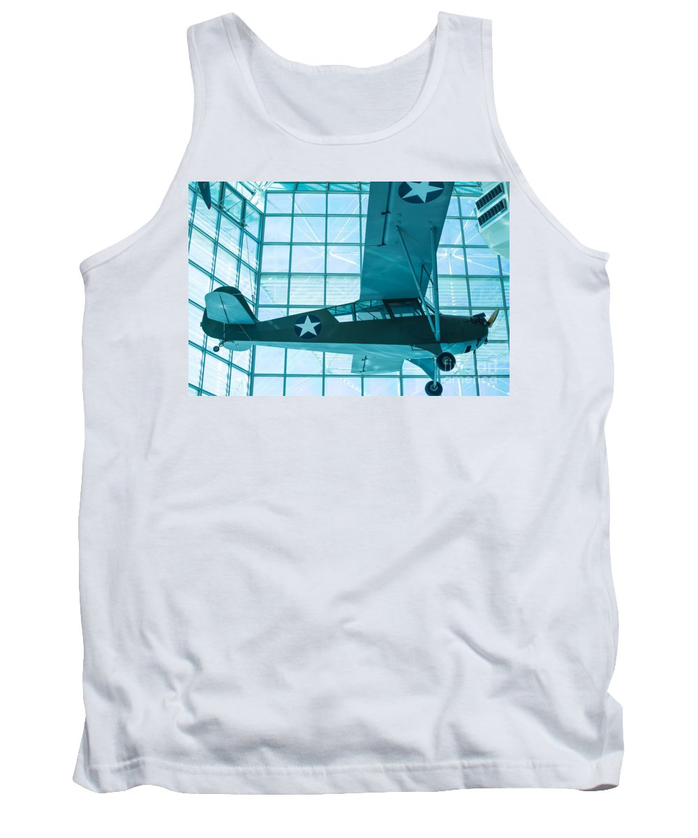 Aircraft Tank Top featuring the photograph Bird Dog by Rich Priest
