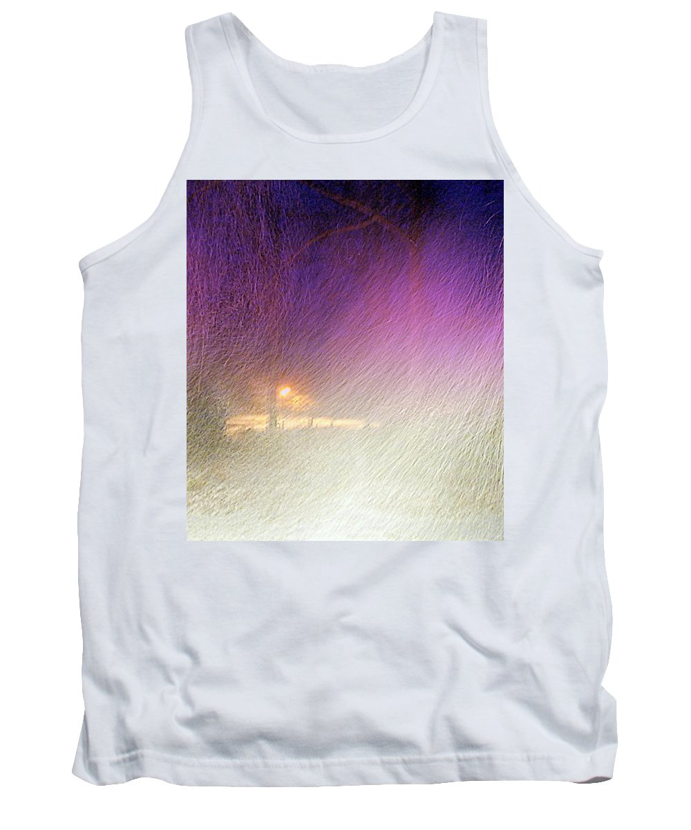 Blizzard Tank Top featuring the photograph Blizzard by Pamela Hyde Wilson