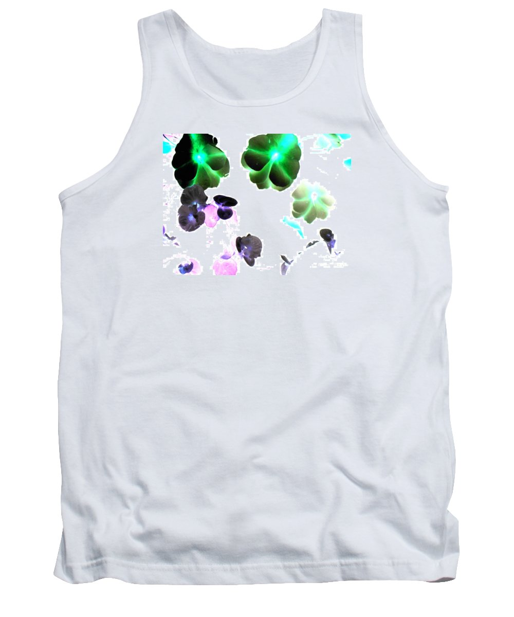 Space Tank Top featuring the photograph Blooming Space by Pauli Hyvonen