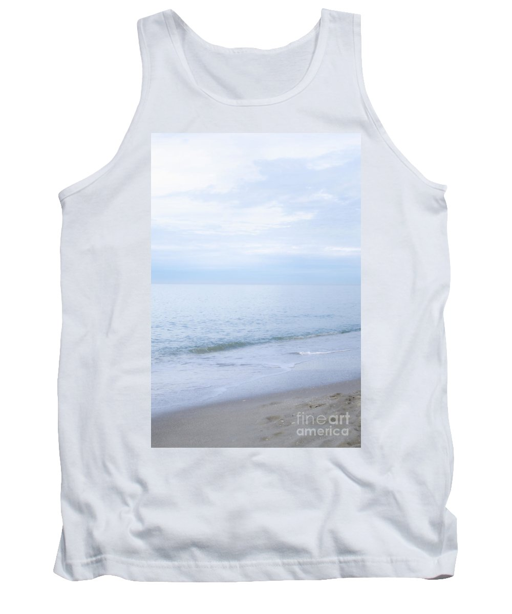 Alone Tank Top featuring the photograph Blue Serenity by Margie Hurwich