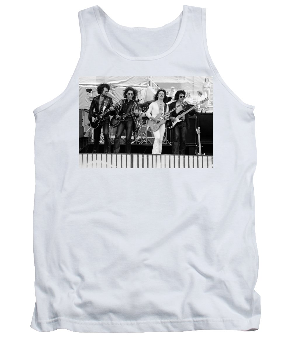 Blue Oyster Cult Tank Top featuring the photograph Boc #102 by Ben Upham