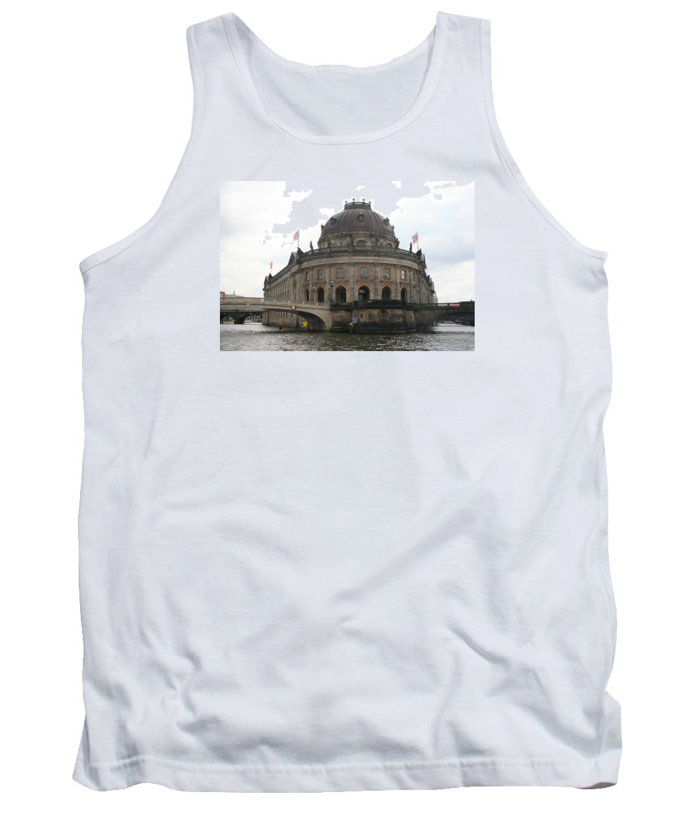 Museum Tank Top featuring the photograph Bode Museum - Berlin - Germany by Christiane Schulze Art And Photography