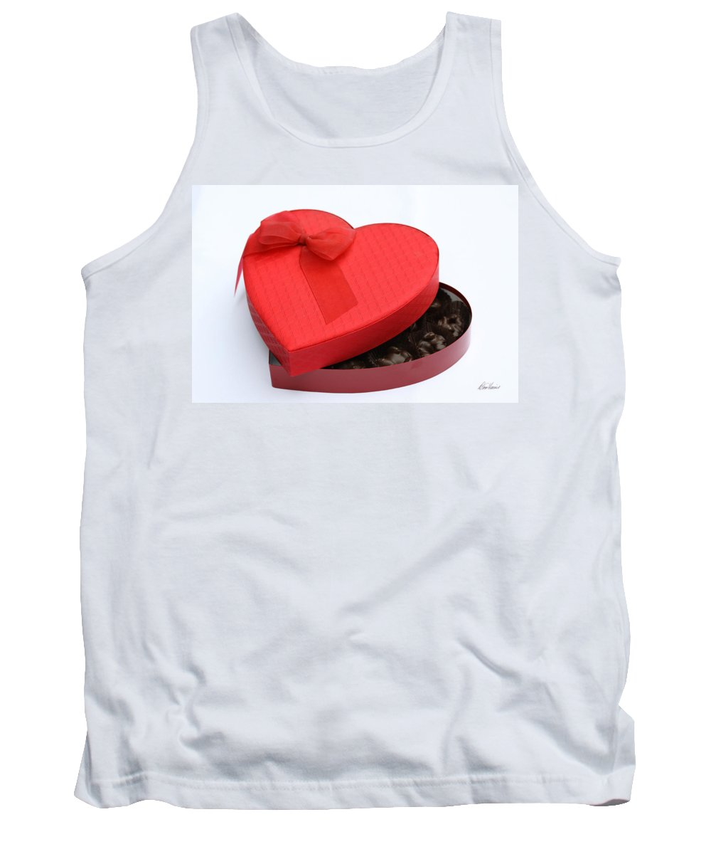 Valentines Day Tank Top featuring the photograph Box Of Chocolates by Diana Haronis