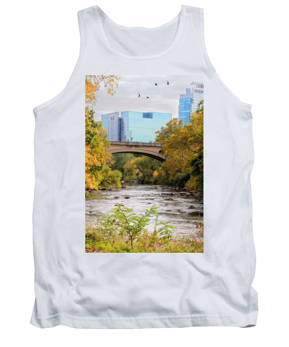 Landscape Tank Top featuring the photograph Brandywine Creek by Trina Ansel
