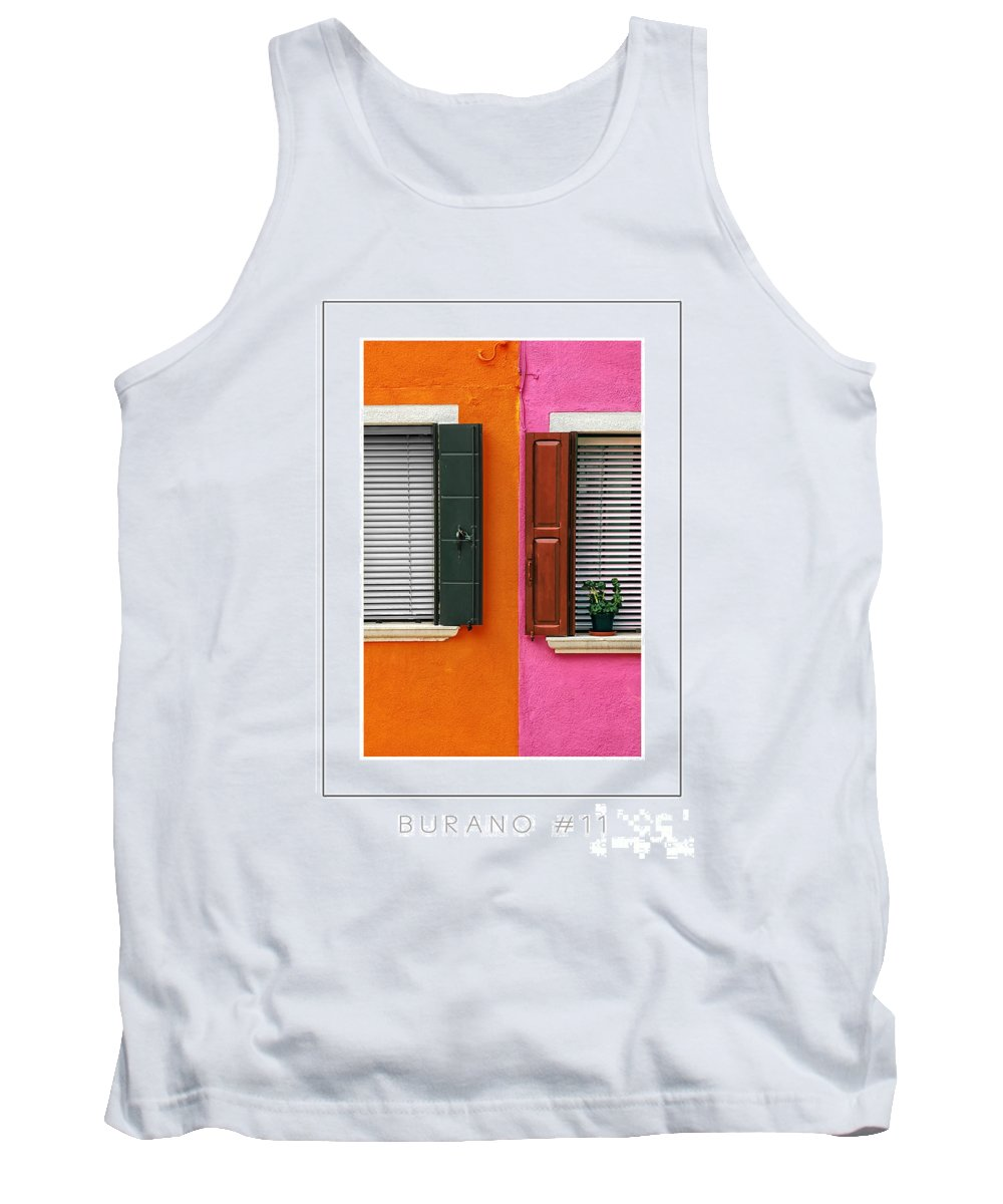 Burano Tank Top featuring the photograph Burano 11 Poster by Mike Nellums