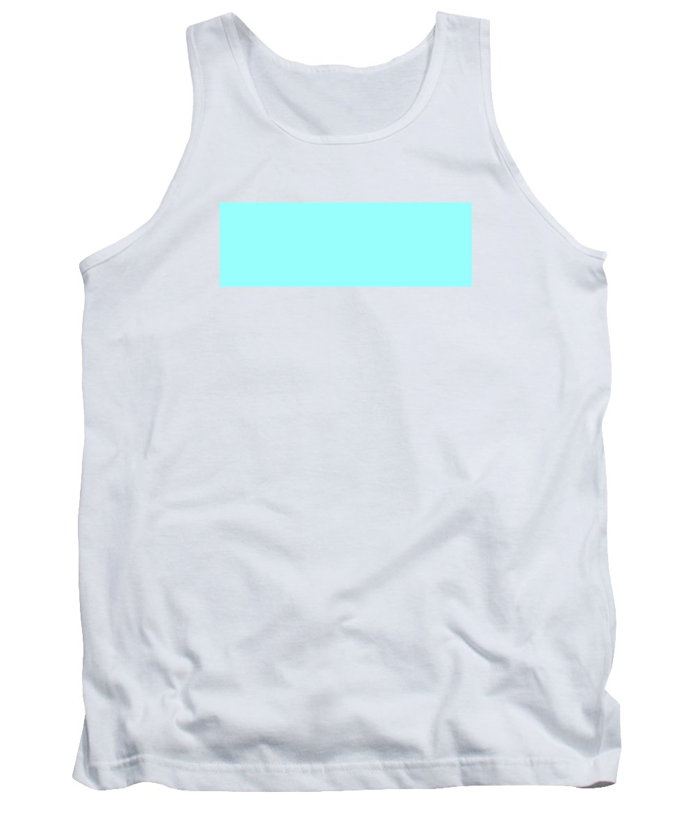 Abstract Tank Top featuring the digital art C.1.153-255-253.3x1 by Gareth Lewis
