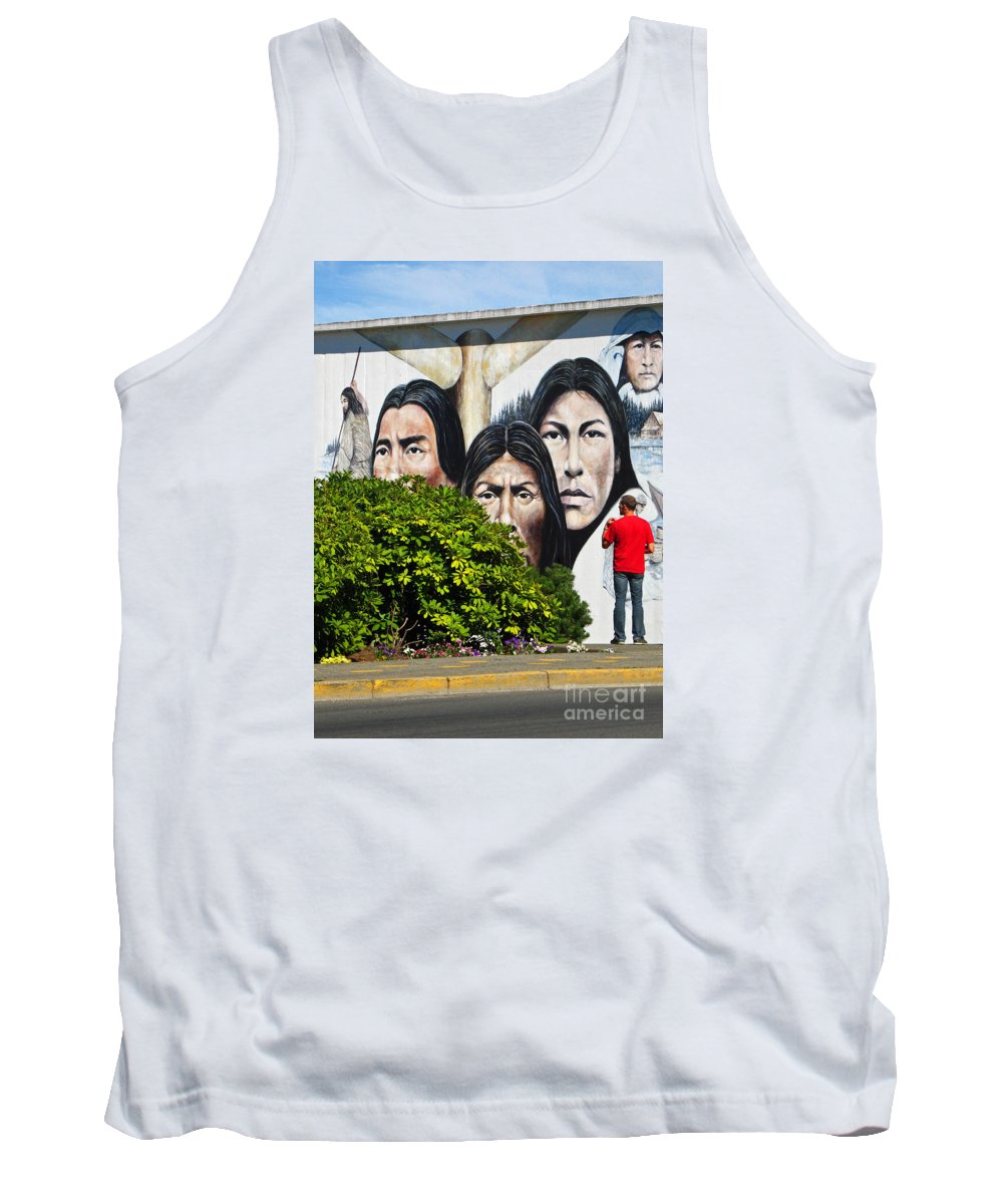 Canada Tank Top featuring the photograph Canadian Retrospective by Ann Horn