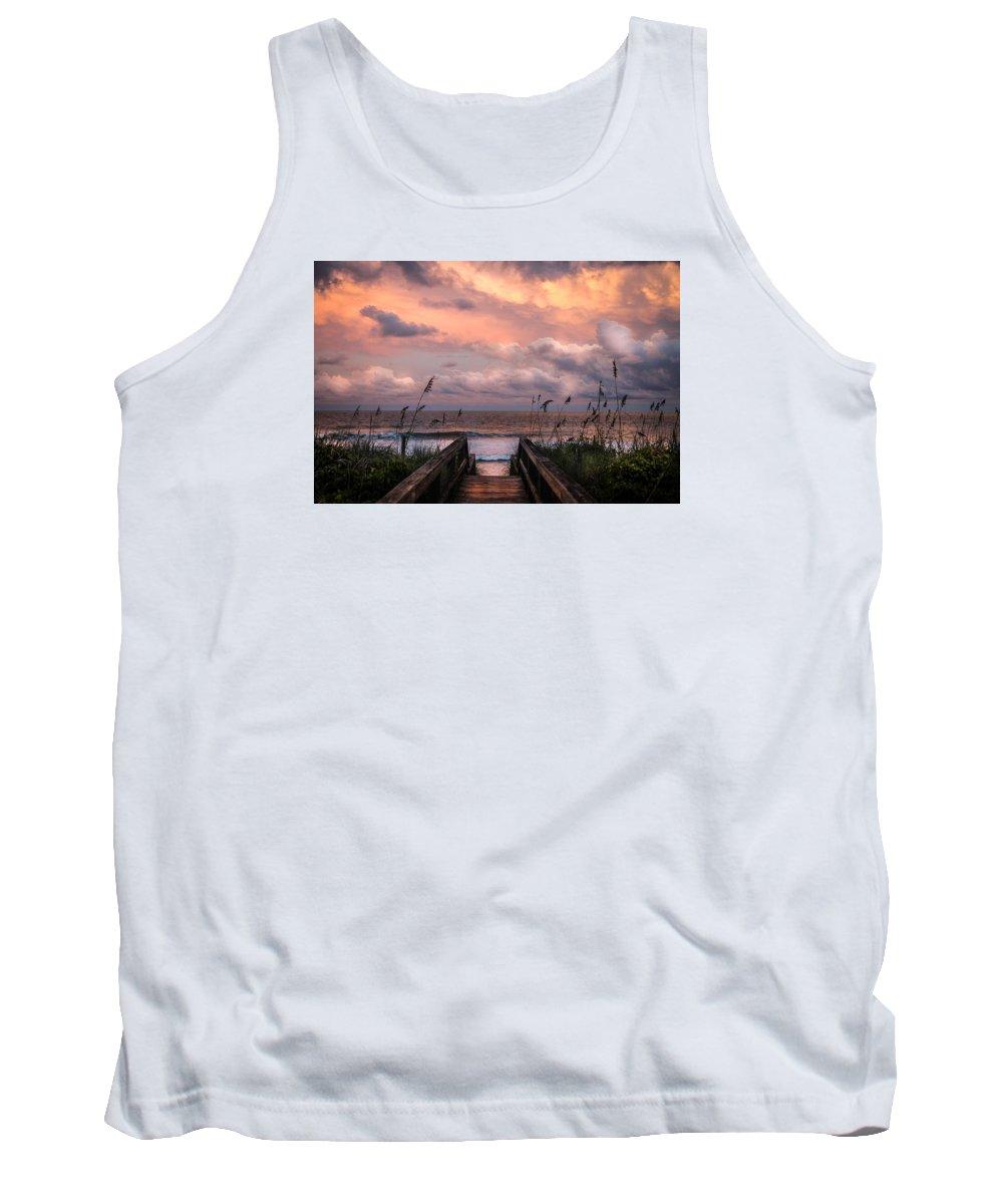 Beaches Tank Top featuring the photograph Carolina Dreams by Karen Wiles