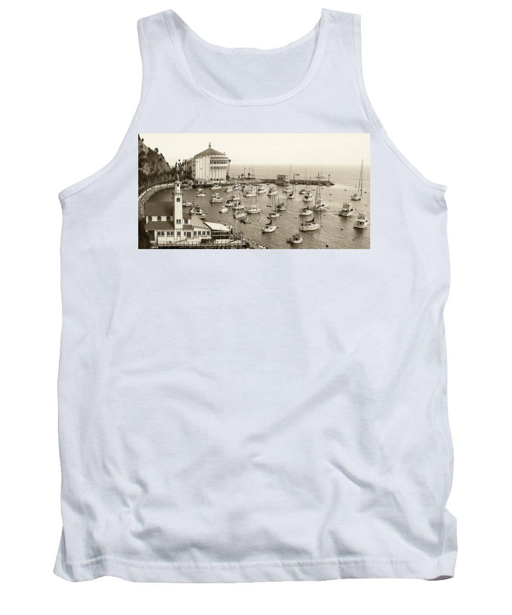 St. Catalina Tank Top featuring the photograph Catalina Island. Avalon by Ben and Raisa Gertsberg