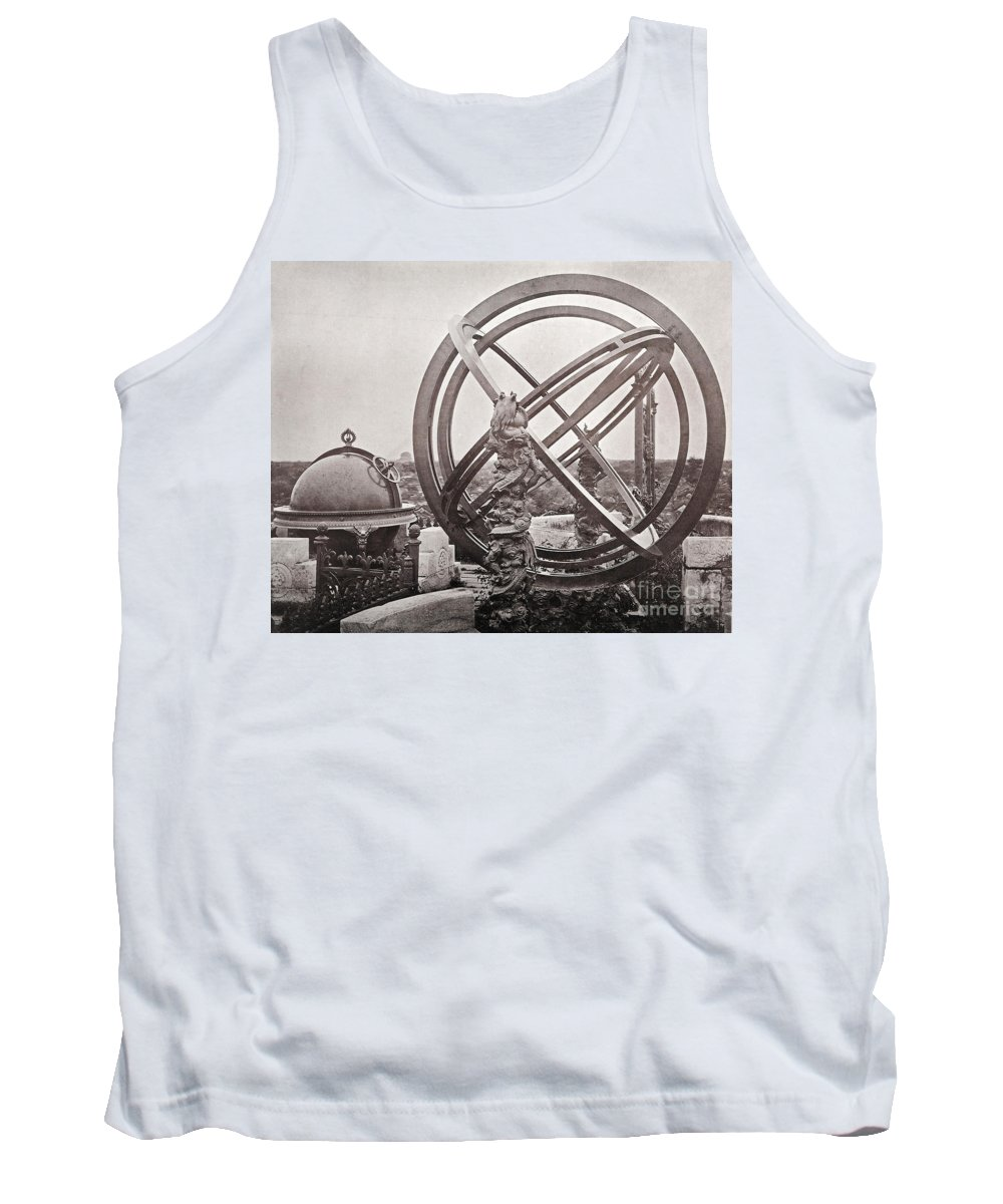 Historic Tank Top featuring the photograph Celestial Globe And Sphere Beijing by Wellcome Images