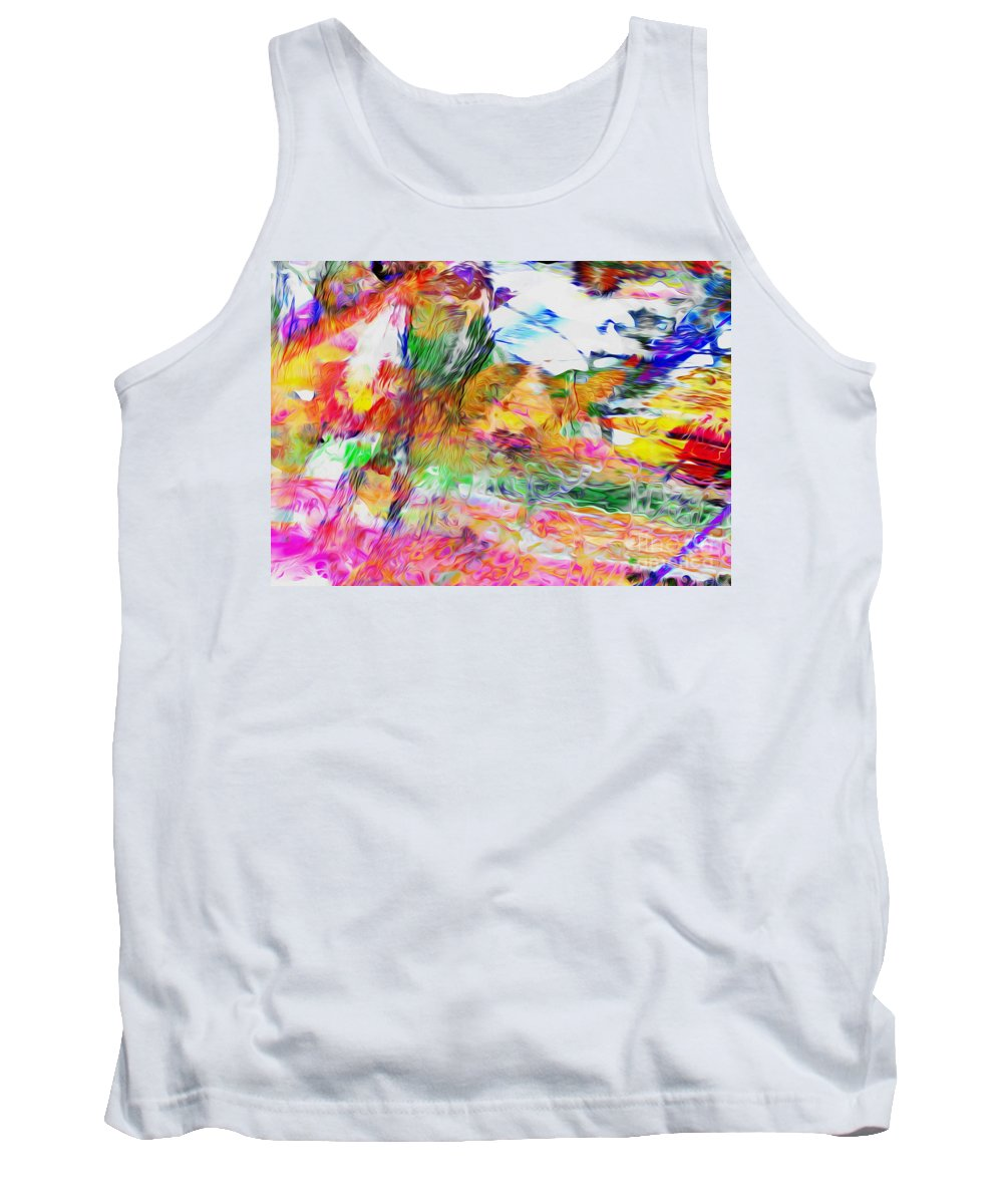Ethiopia Tank Top featuring the digital art Central Ethiopia by Phill Petrovic