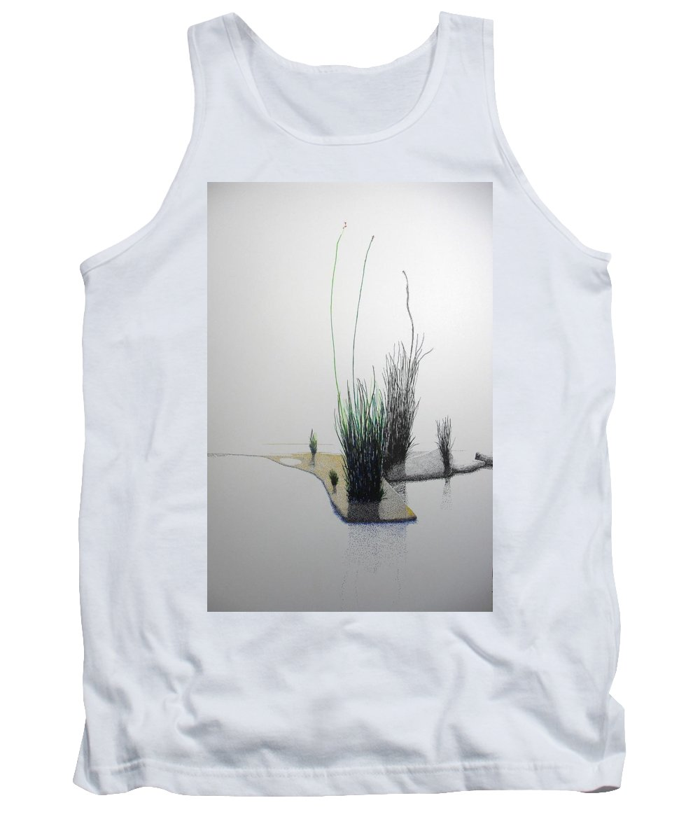 Landscape Tank Top featuring the painting Chasm by A Robert Malcom