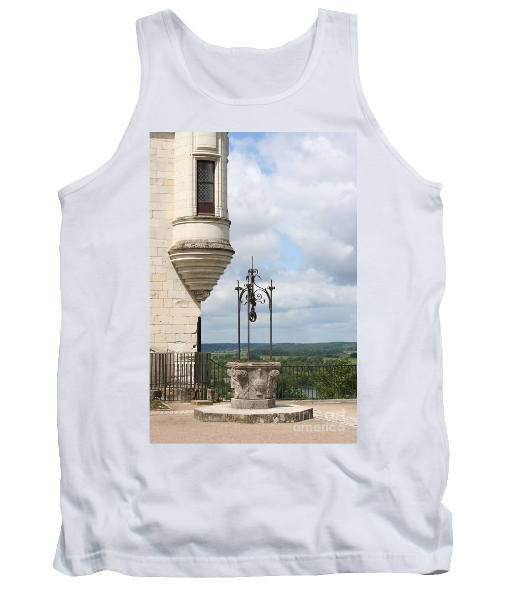Baywindow Tank Top featuring the photograph Chateau Baywindow And Well by Christiane Schulze Art And Photography
