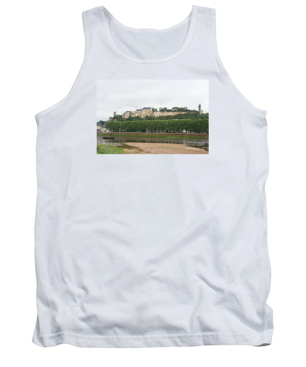 Castle Tank Top featuring the photograph Chateau De Chinon - France by Christiane Schulze Art And Photography