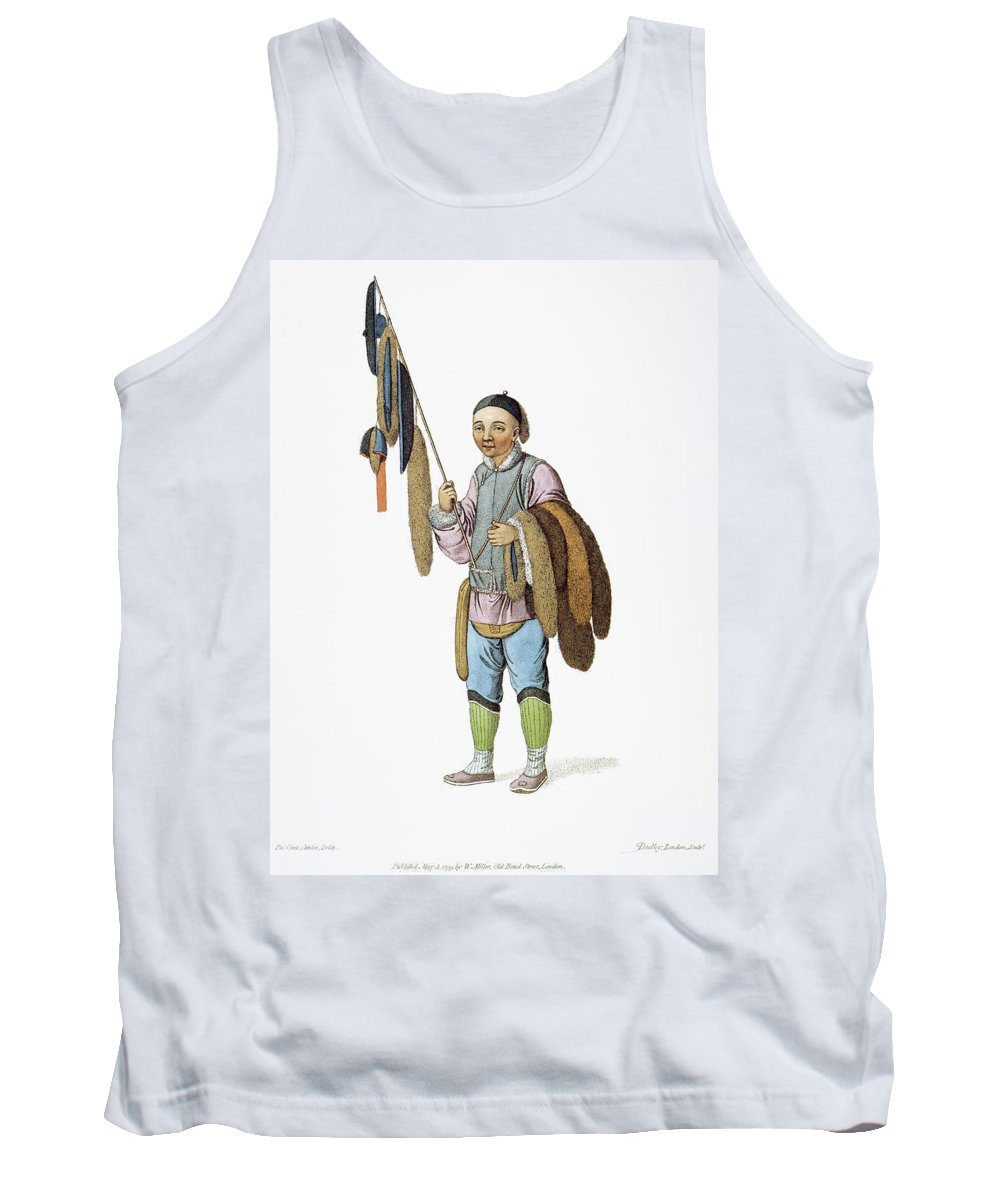 1799 Tank Top featuring the painting Chinese Furrier by Granger