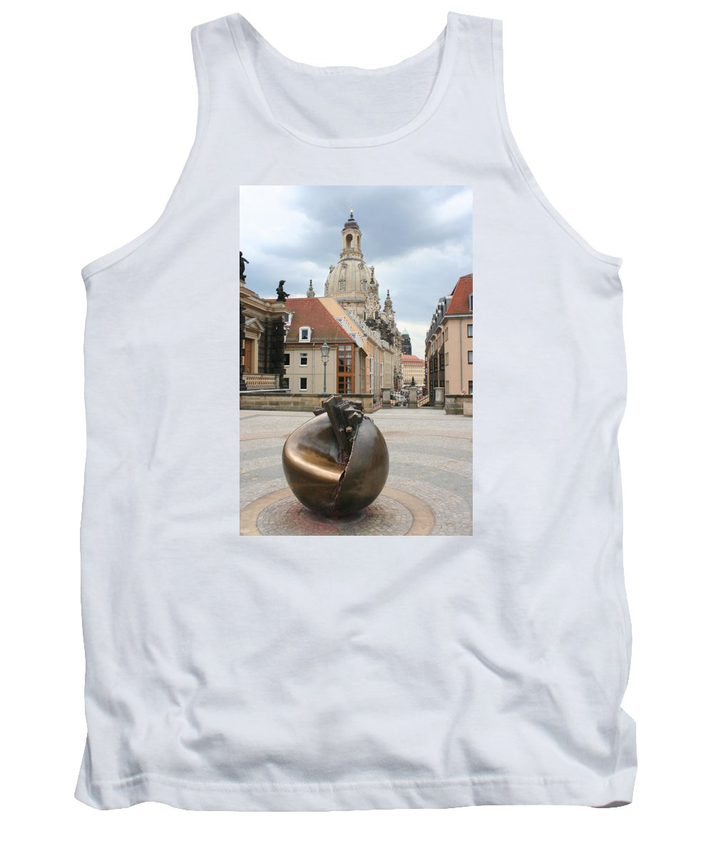 Church Tank Top featuring the photograph Church Of Our Lady - Dresden - Germany by Christiane Schulze Art And Photography
