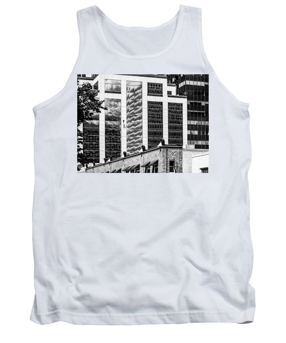 Reflections Tank Top featuring the photograph City Center -64 by David Fabian
