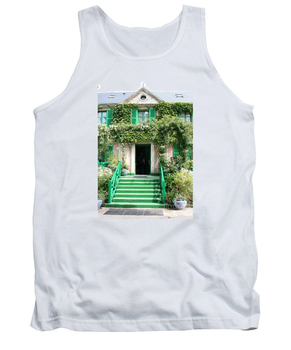 Claude Monet Tank Top featuring the photograph Claude Monets Home by Christiane Schulze Art And Photography