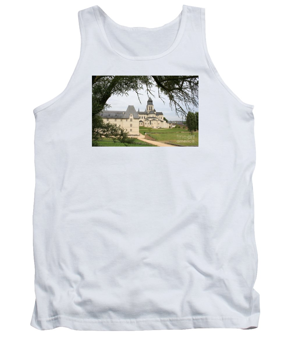 Cloister Tank Top featuring the photograph Cloister Fontevraud View - France by Christiane Schulze Art And Photography