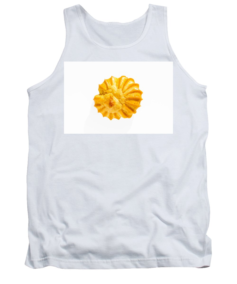 Cake Tank Top featuring the photograph Close-up Of A Puff by Alain De Maximy