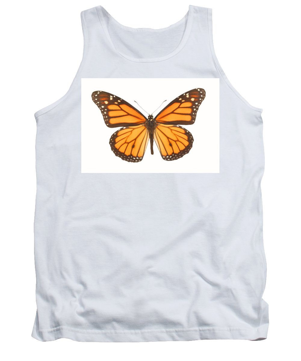 Beautiful Tank Top featuring the photograph Closeup Of A Butterfly by Don Hammond