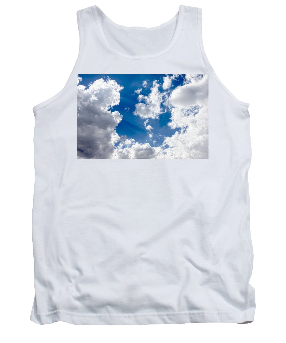 Clouds Tank Top featuring the photograph Cloud Study 3852 by Brian King