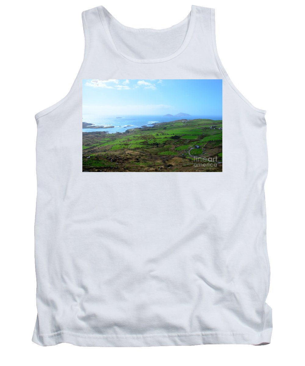 Irish Tank Top featuring the photograph Coastal Ireland by DejaVu Designs