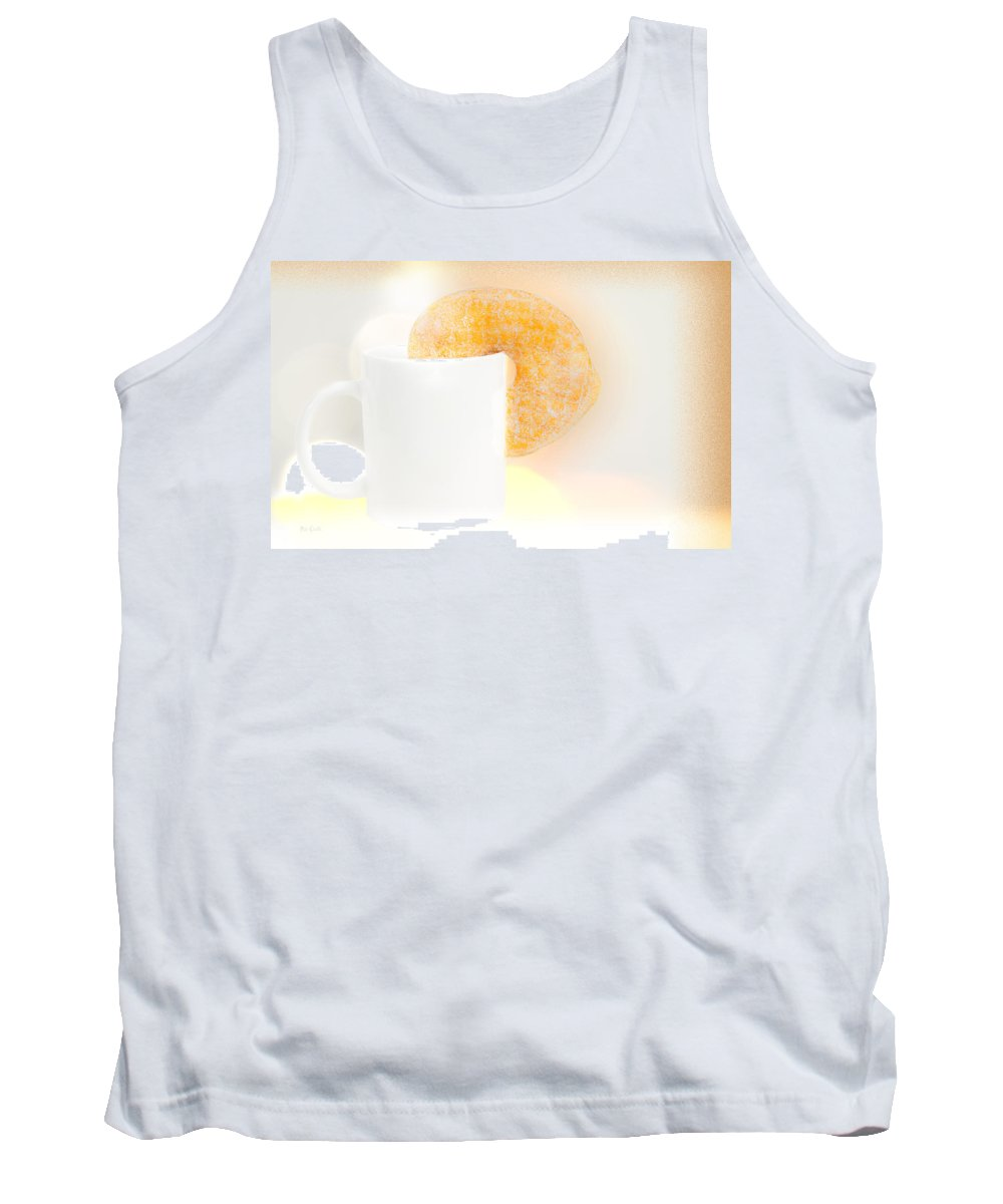 Coffee And Donuts Tank Top featuring the photograph Coffee And Donuts Two by Bob Orsillo