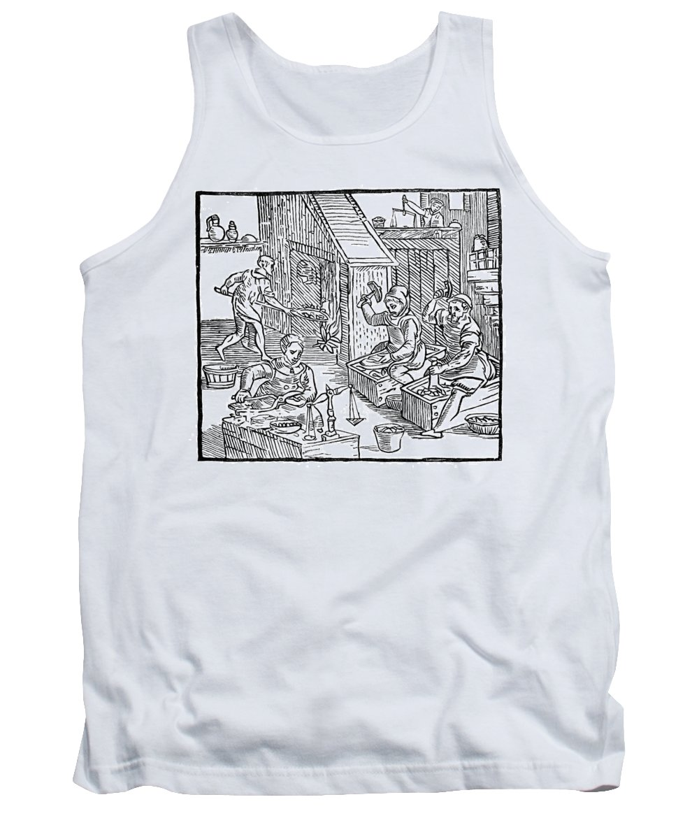 1577 Tank Top featuring the painting Coiners, 1577 by Granger