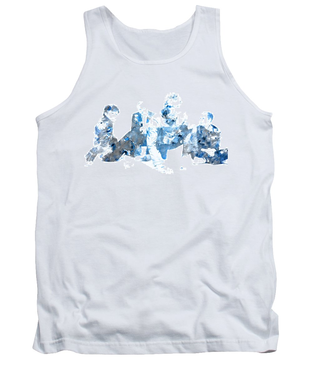 Coldplay Tank Top featuring the digital art Coldplay by Brian Reaves