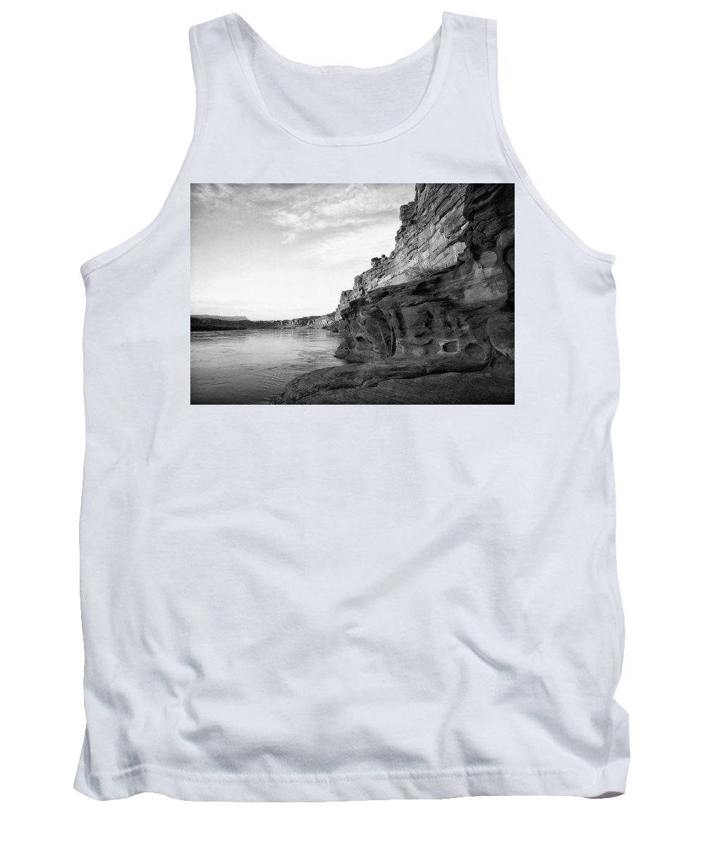 Atmosphere Tank Top featuring the photograph Colorado River by Ingrid Smith-Johnsen
