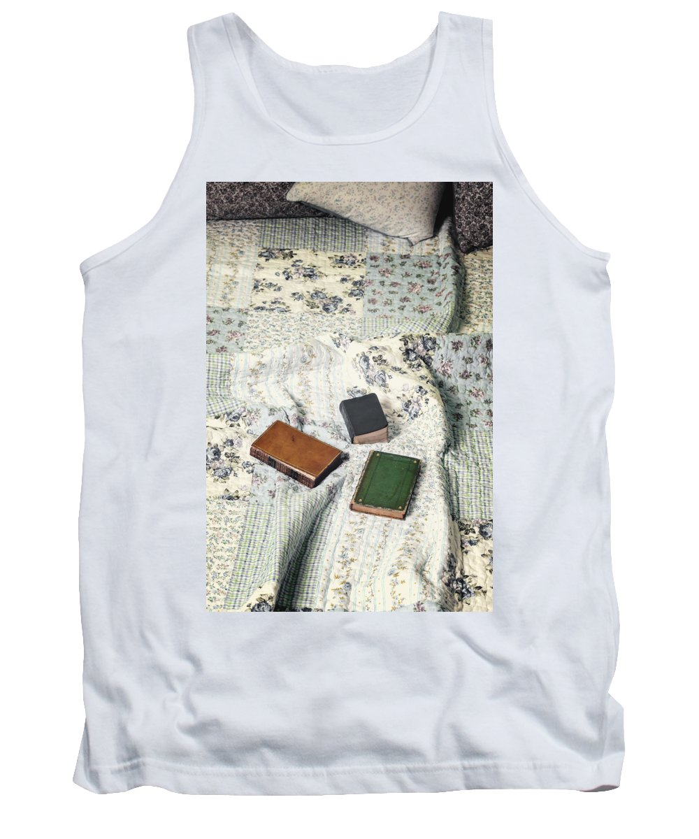 Book Tank Top featuring the photograph Comfy Reading Time by Joana Kruse