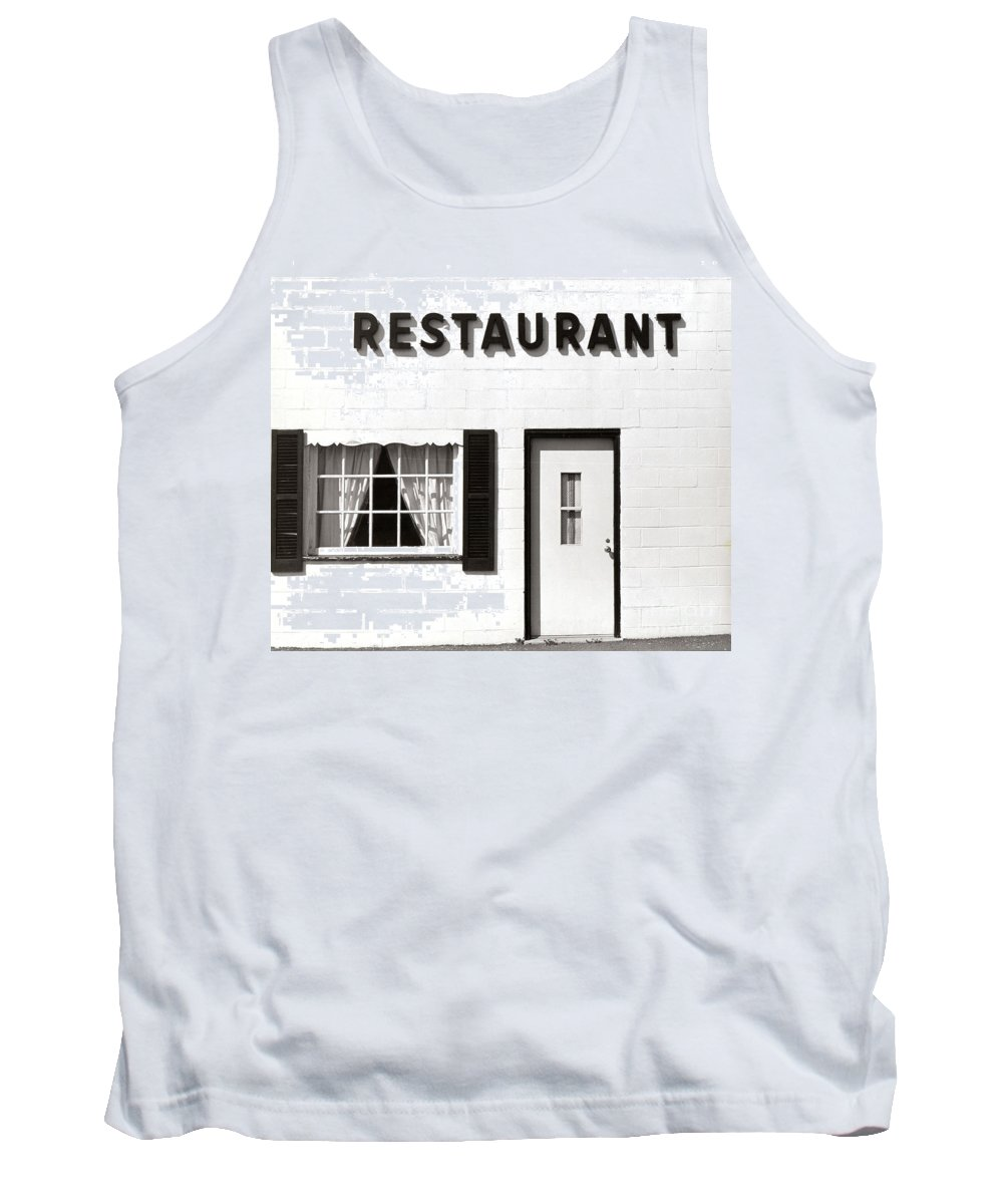 Restaurant Tank Top featuring the photograph Country Restaurant by Thomas Marchessault