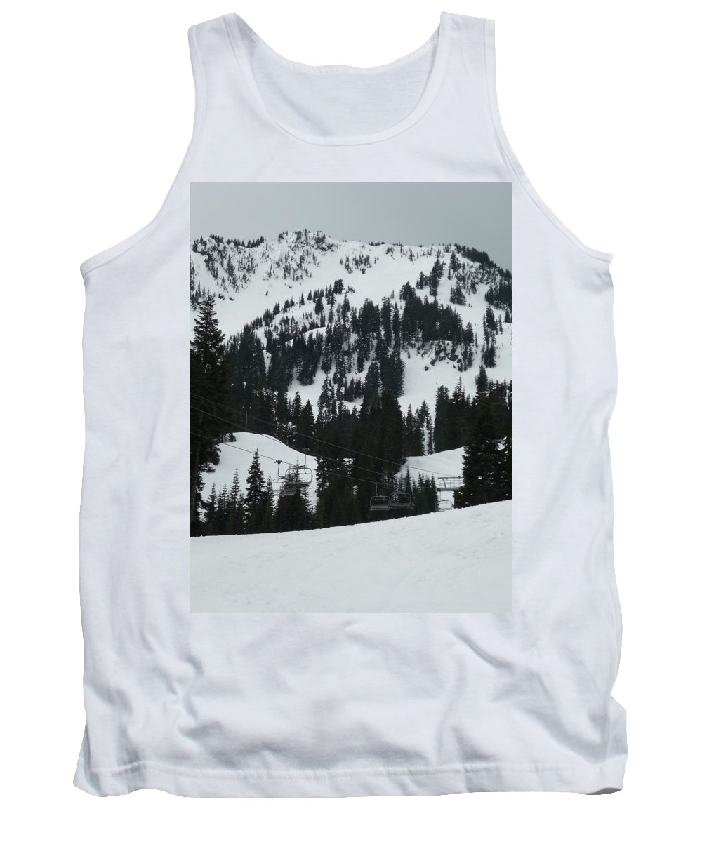 Landscape Tank Top featuring the painting Cowboy Ridge by Kimberly Maxwell Grantier