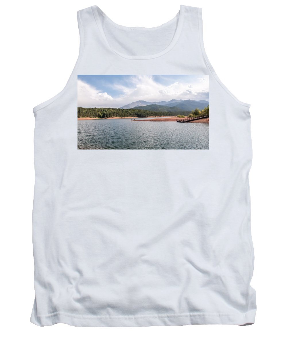 America Tank Top featuring the photograph Crystal Lake by Amel Dizdarevic