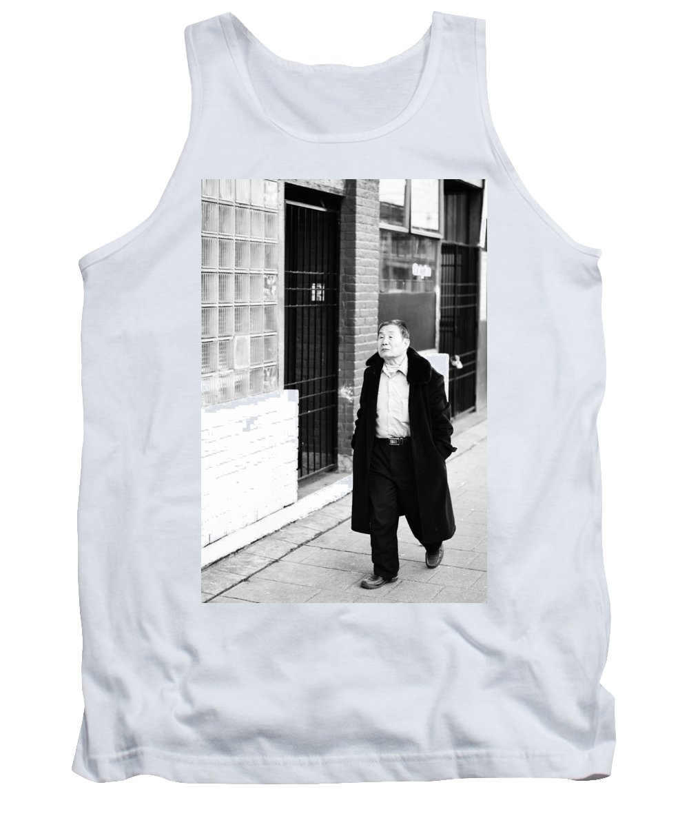 Vancouver Tank Top featuring the photograph Curb N Fur by The Artist Project