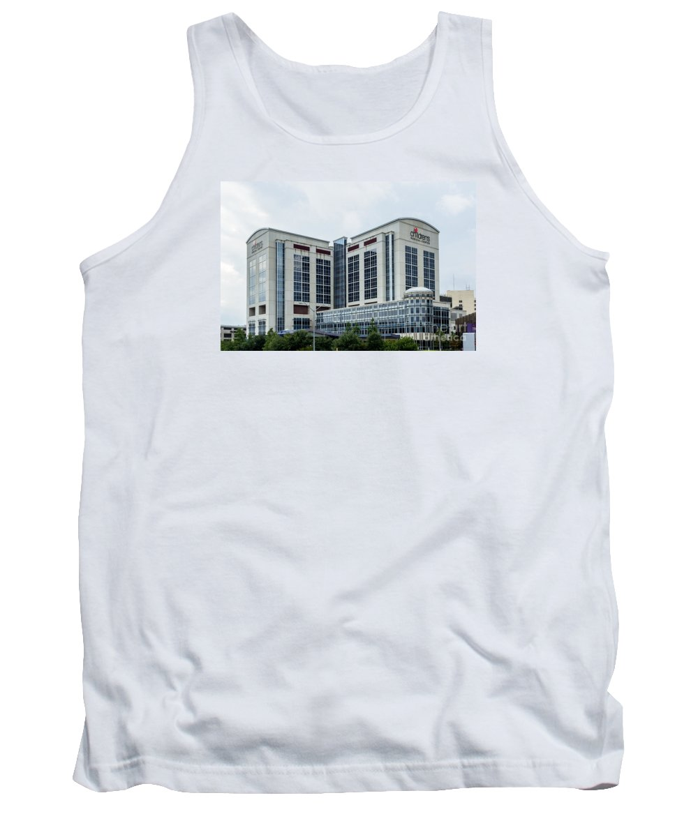 Dallas Tank Top featuring the photograph Dallas Children's Medical Center Hospital by Imagery by Charly