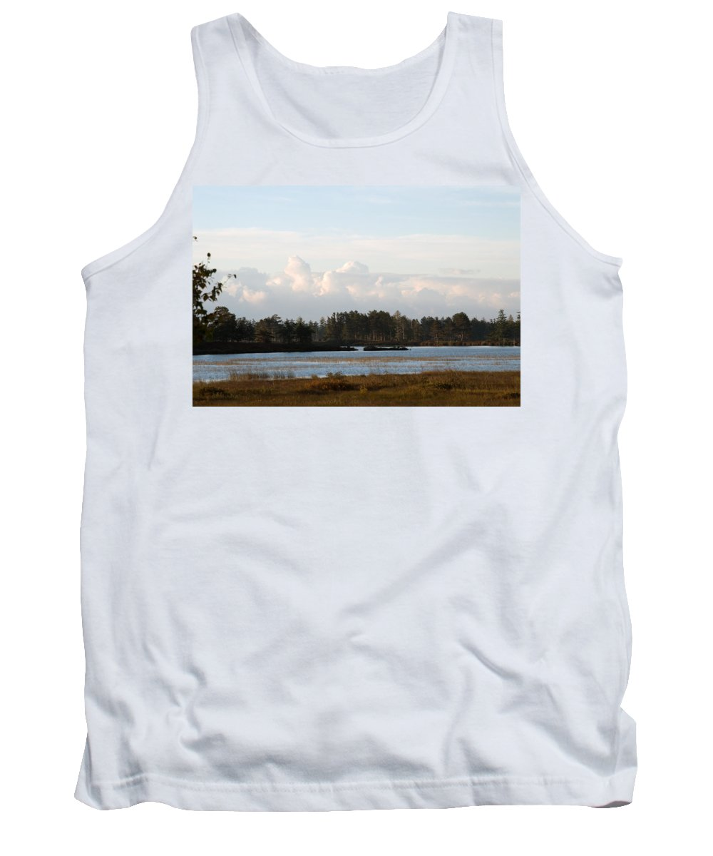 Wetland Tank Top featuring the photograph Day Of Beauty by Linda Kerkau