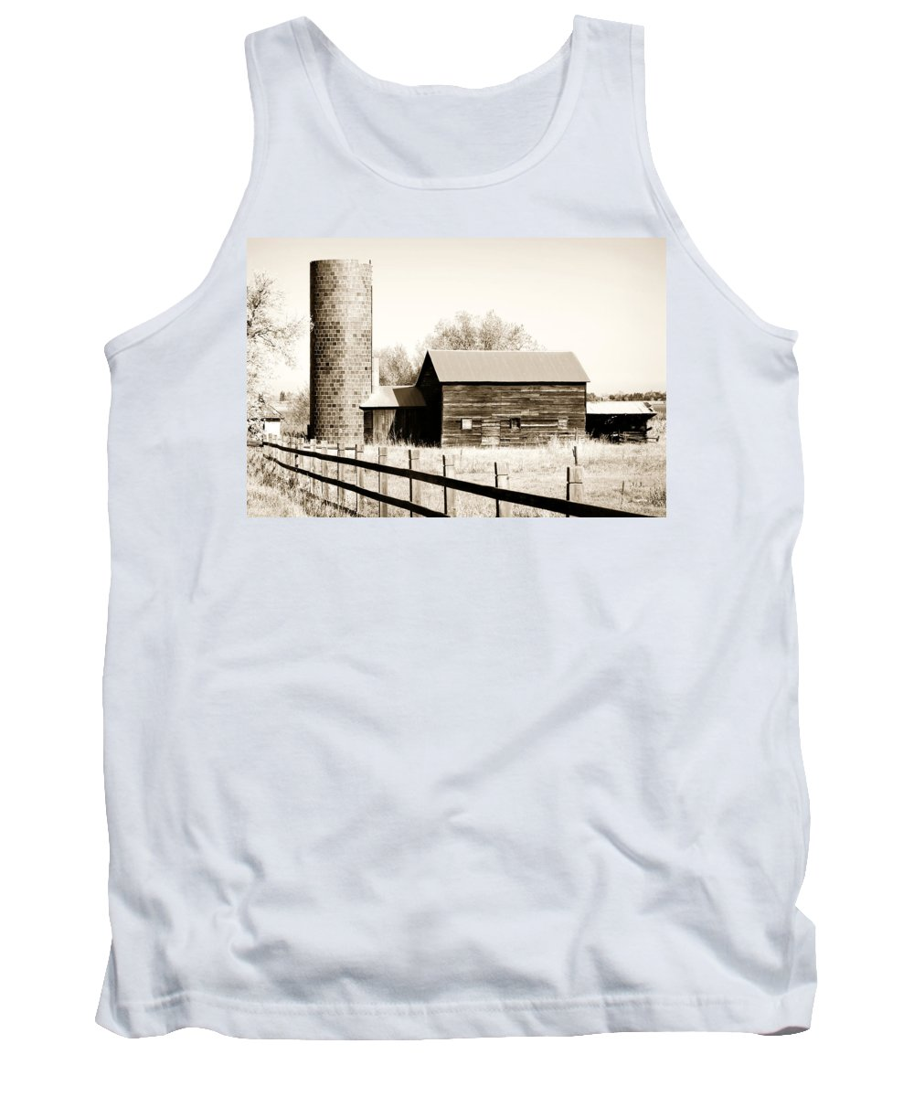 Americana Tank Top featuring the photograph Days Gone By by Marilyn Hunt